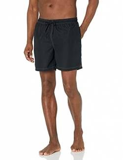 "28 Palms 6"" Inseam Swim Trunk Badehose, Black, Medium von 28 Palms"