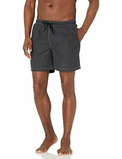 "28 Palms 6"" Inseam Swim Trunk Badehose, Charcoal, Medium von 28 Palms"