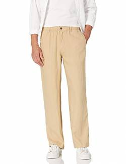 "28 Palms Linen Drawstring Pant Hosen, casual, tan, X-Small/30"" Inseam von 28 Palms"
