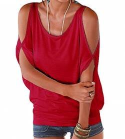 365-Shopping® Japan Style von Damen Top T - Shirt Bluse Longshirt Tunika Tanktop Oberteil von 365-Shopping