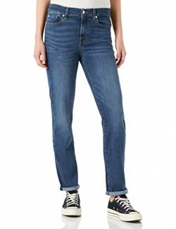 7 For All Mankind Women's Roxanne Jeans, Mid Blue, 29 von 7 For All Mankind