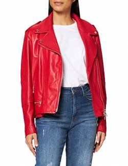 7 For All Mankind Womens Moto Jacket Blazer, Red, M von 7 For All Mankind