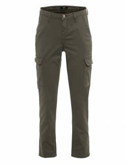 Twill Croco Label Green von 7 For All Mankind