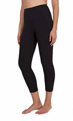 "90 Degree By Reflex High Waist Tummy Control 22"" Interlink Capri Leggings von 90 Degree By Reflex"