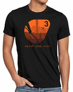 A.N.T. Never Loose Faith Herren T-Shirt Black mesa Lambda, Größe:XXL von A.N.T. Another Nerd T-Shirt