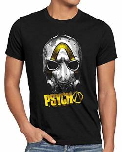 A.N.T. Psycho Gold Herren T-Shirt ego Shooter Multiplayer, Größe:S von A.N.T. Another Nerd T-Shirt