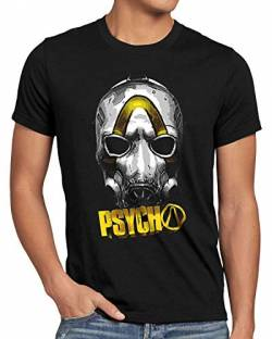 A.N.T. Psycho Gold Herren T-Shirt ego Shooter Multiplayer, Größe:XXL von A.N.T. Another Nerd T-Shirt