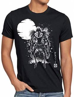 A.N.T. Shinigami Vollmond Herren T-Shirt Death Manga Anime Note, Größe:L von A.N.T. Another Nerd T-Shirt