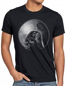 A.N.T. Vader Icon Herren T-Shirt Todesstern Imperium, Größe:5XL von A.N.T. Another Nerd T-Shirt