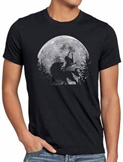 A.N.T. Wolf Link Midna Mond Herren T-Shirt Twilight Princess, Größe:XXL von A.N.T. Another Nerd T-Shirt