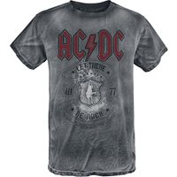 AC/DC Let There Be Rock  T-Shirt  grau von AC/DC
