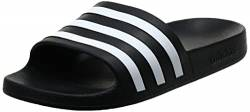 adidas Aqua Adilette Sandal, Core Black Cloud White Core Black, 28 EU von adidas
