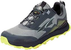 ALTRA Herren Lone Peak All-WTHR Low Schuhe, Gray-Lime, US 12.5 von ALTRA