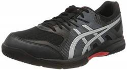 ASICS Herren 1071A030-003_46,5 Volleyball Shoes, Black, 46.5 EU von ASICS