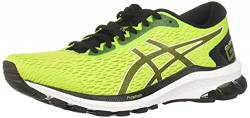 ASICS Mens GT-1000 9 Running Shoe, Lime Zest/Black,40.5 EU von ASICS