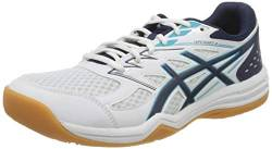 ASICS Herren 1071A053-100_46,5 Volleyball Shoes, White, 46.5 EU von ASICS