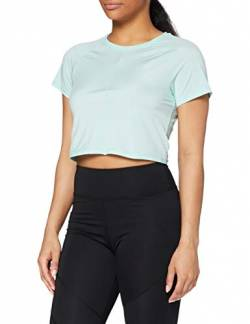 Amazon-Marke: AURIQUE Damen Sport-Croptop, Grün (Mint), 40, Label:L von AURIQUE