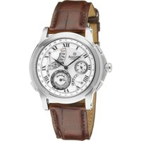 Accurist GMT Herrenuhr in Braun GMT325 von Accurist