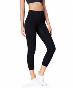 Activewear Damen Sport Leggings, Schwarz, XX-Small von Activewear