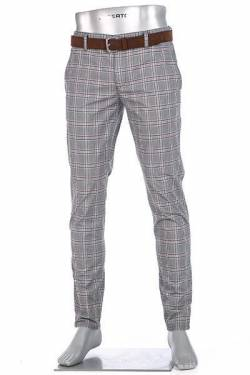 Alberto Slim Fit Rob Double Check 62871926/085 von Alberto