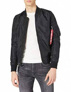 Alpha Industries Herren Jacke Ma-1 TT, Schwarz (Black 03), Medium von Alpha Industries
