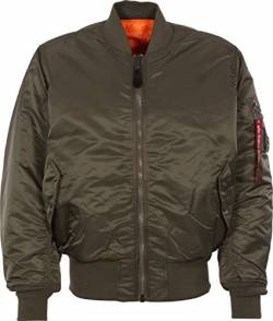 Alpha Industries Herren Jacken MA-1, Grau (rep.grey 04), Small von Alpha Industries