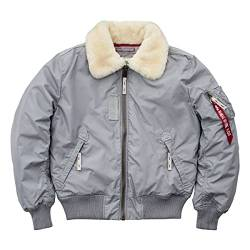 ALPHA INDUSTRIES Herren 143104-31-l Jacke, Silber (Silver 31), Large von ALPHA INDUSTRIES