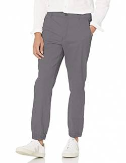 Amazon Essentials Slim-Fit Jogger casual-pants, Dunkelgrau, L von Amazon Essentials