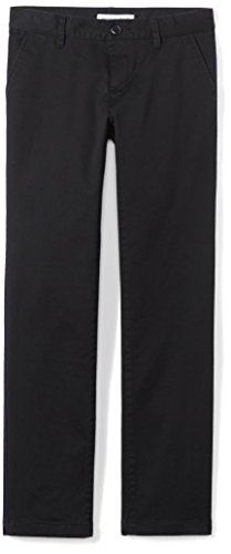 Amazon Essentials Slim Uniform Chino pants, Black, 10(S) von Amazon Essentials