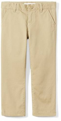 Amazon Essentials Slim Uniform Chino pants, Khaki, 12(S) von Amazon Essentials