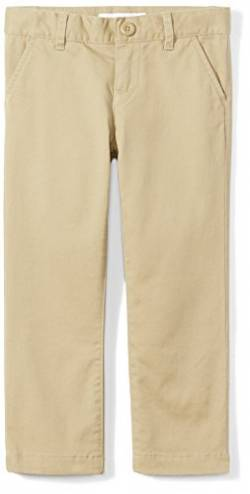 Amazon Essentials Slim Uniform Chino pants, Khaki, 7(S) von Amazon Essentials
