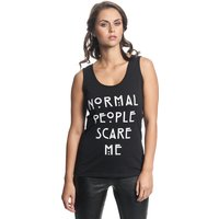 American Horror Story Normal People Damen Top Schwarz von American Horror Story