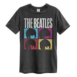 The Beatles Amplified Collection - Hard Days Night Männer T-Shirt Charcoal S von Amplified Clothing