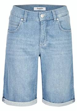 Angels Bermuda-Jeans mit Used-Waschung blau (3458 Light Blue Used) 40 von Angels