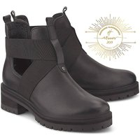 Another A, Cut-Out-Stiefelette in schwarz, Boots für Damen von Another A