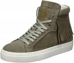 Apple of Eden Damen Poka High-Top, Grau (Taupe), 36 EU von Apple of Eden