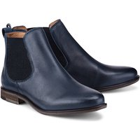 Chelsea-Boots Manon von Apple of Eden in blau für Damen. Gr. 36,37,38,39,40,41 von Apple of Eden