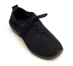 Arcopedico Womens LS 1151 Black Fabric Shoes 37 EU von Arcopedico