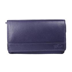 Arrigo Unisex-Adult 01B-301R Wallet with flap, Aubergine, Large von Arrigo