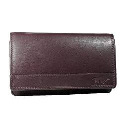 Arrigo Unisex-Adult 01B-301R Wallet with flap, Bordeaux, Large von Arrigo