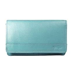 Arrigo Unisex-Adult 01B-301R Wallet with flap, Lichtblauw, Large von Arrigo