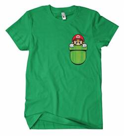 Mario Pocket M2 T-Shirt von Artshirt Factory