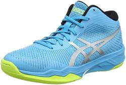 ASICS Damen Volley Elite FF MT Volleyballschuhe, Blau (Aquarium/Silver 400), 39.5 EU von ASICS