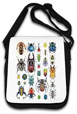Bunch of Beatles Creepy Crawlies Crawlers Schultertasche von Atprints