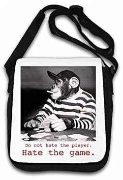 Do Not Hate The Player Hate The Game Schultertasche von Atprints