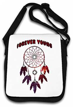 Forever Young Dream Catcher New Age Style top Schultertasche von Atprints