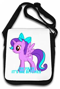 Oh Yeah It is Me Bitches Little Pony Art Schultertasche von Atprints