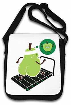 Running pear Has a Dream get fit Healthy Gym Sport Schultertasche von Atprints
