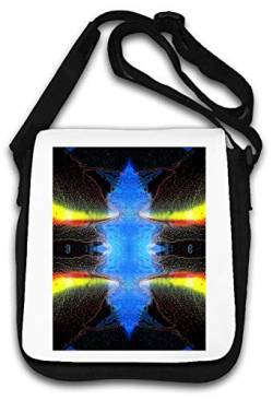 Shapeshifter Trippy LSD Shrooms Goa Art Schultertasche von Atprints