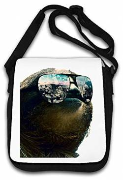 Sloth All I See is Money Sunglasses Schultertasche von Atprints